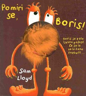 Knjigica z lutko - Pomiri se Boris