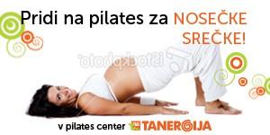 Pridi na pilates za nosečke