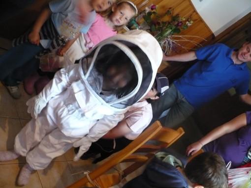 Moja čebelarska obleka
