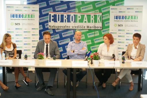 Europark: tiskovna konferenca
