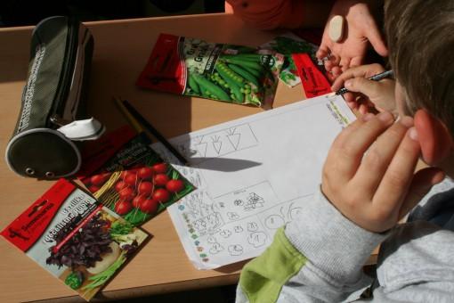 Načrtovanje vrta se začne v učilnici