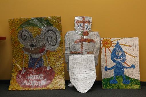 Umetnine iz odpadne embalaže Tetra Pak