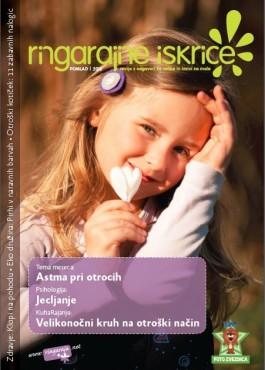 Sara na naslovnici revije Ringarajine iskrice