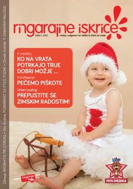 Katja na naslovnici revije