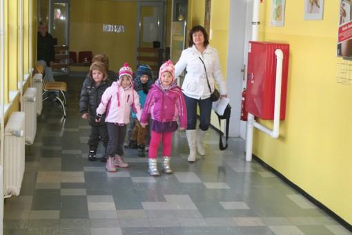 Otroci z Objemčki v bolnišnici Murska Sobota
