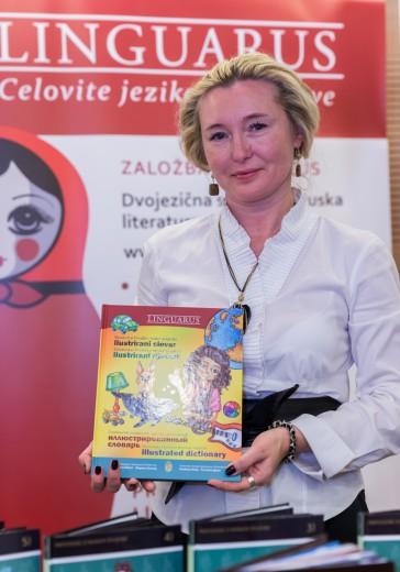 Avtorica slovarja, Maryna Bilash