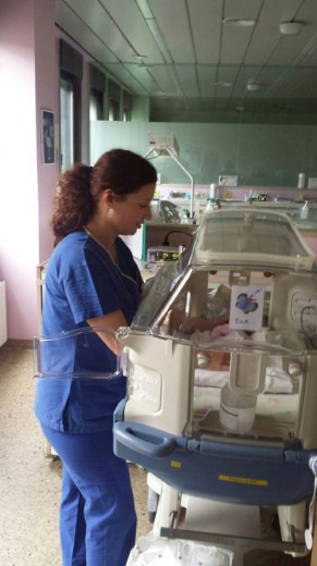 Vlasta Lubej, medicinska sestra na EINT