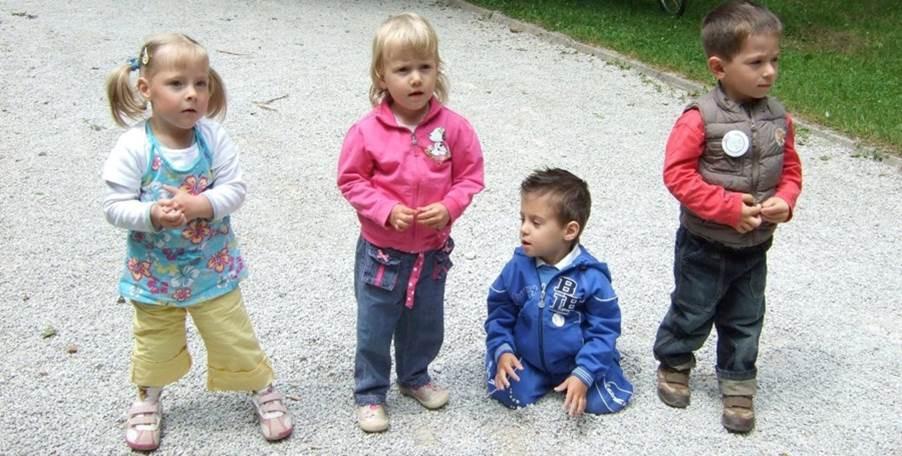 Vesna, Alja, Marko in Svit, nekoč za dlan veliki nedonošenčki