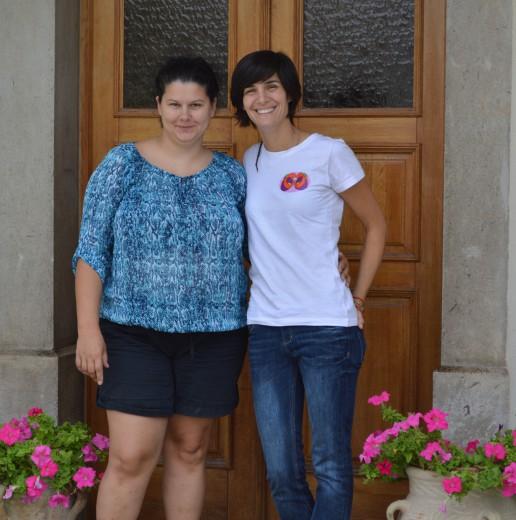 Nina (levo) in Loreto (desno)