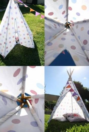 Postavljen šotor