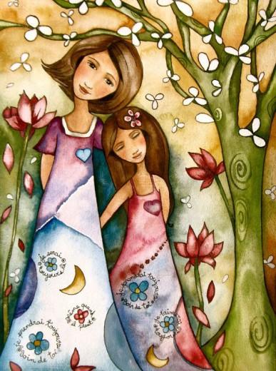 Mama je simbol pomladi in življenja.