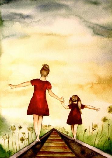 Želim postati takšna ženska, kot je moja mama.