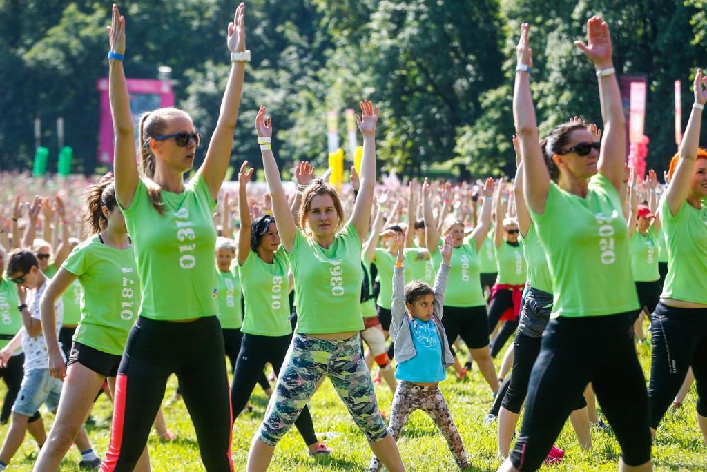 Vseslovenski tekaški praznik je letos minil v zeleni barvi.