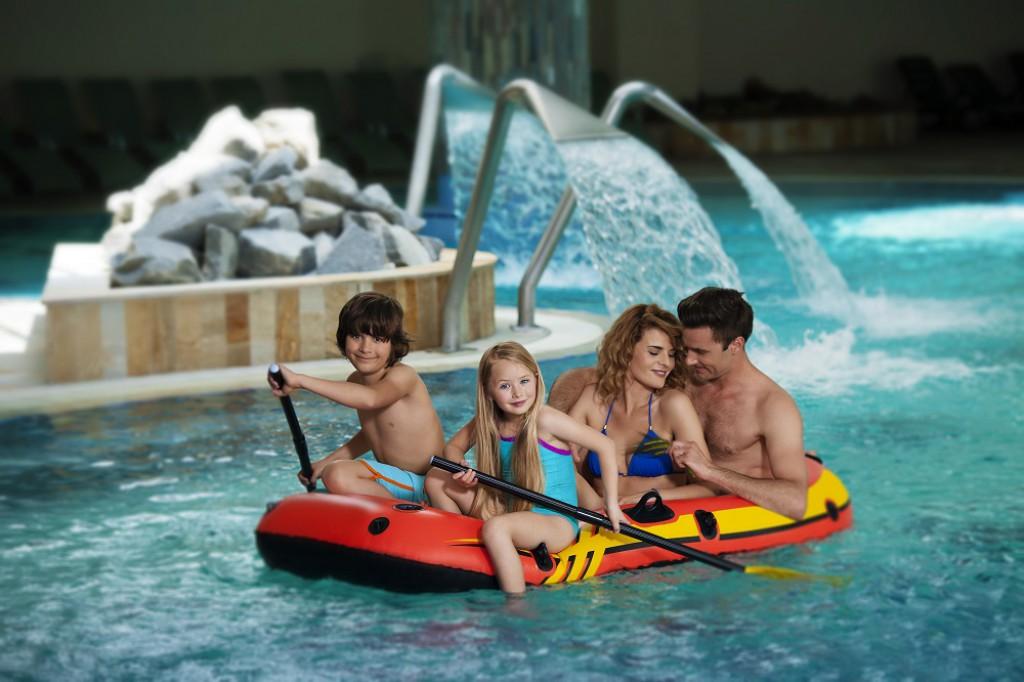 Družinske poletne počitnice v Termah 3000 v Moravskih Toplicah.