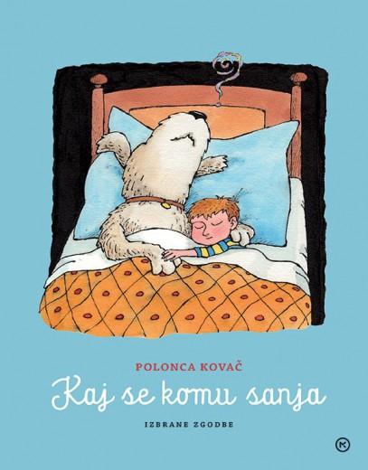 Knjiga Kaj se komu sanja ima kar 407 strani.