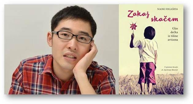 Naoki Higašida je knjigo Zakaj skačem izdal pri trinajstih letih.
