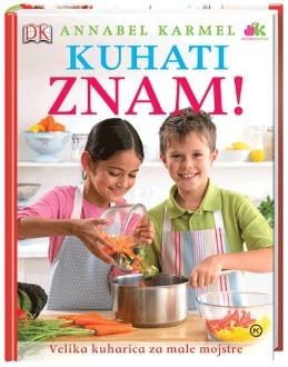 Kuharica s praktičnimi nasveti za otroke, ki se učijo kuhanja.