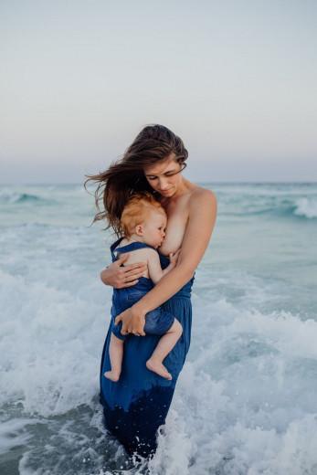 Ne skrbi dete moje, skupaj bova previharila vse nevihte.