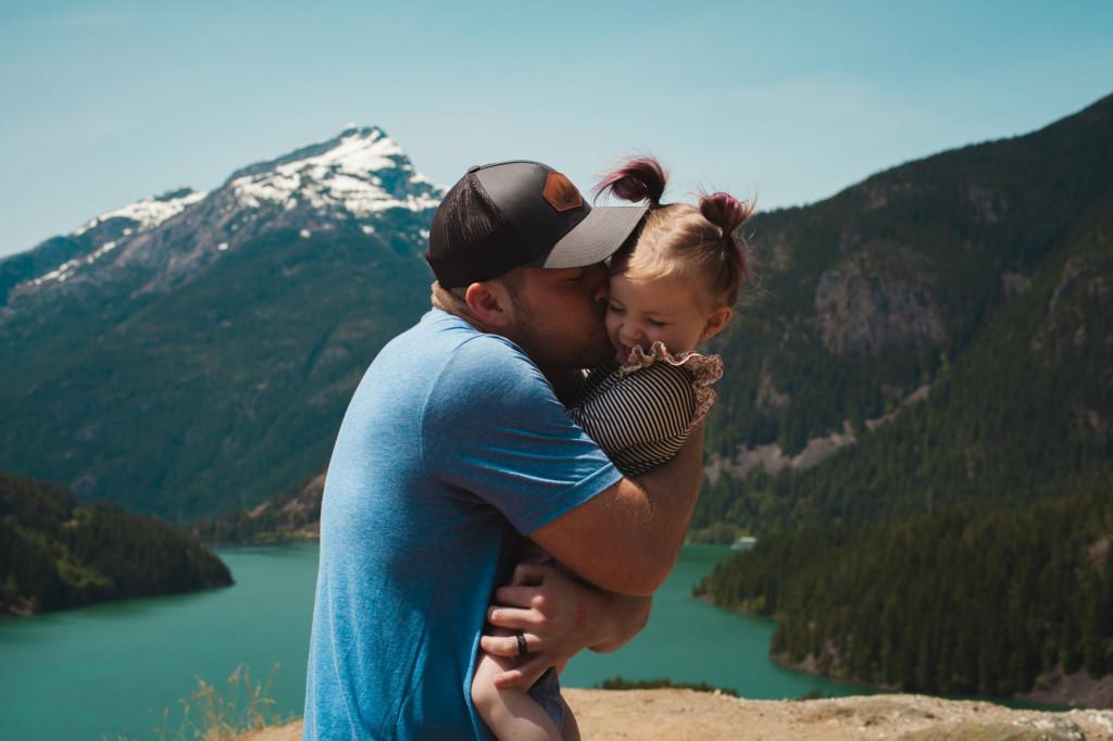 Nisem vedel, da sem zmožen takšne ljubezni. Zato hvala ti, da si moja hči!