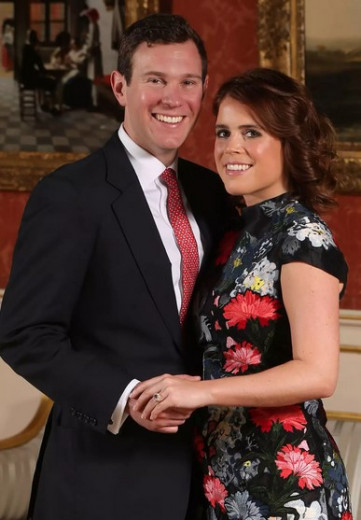Noseča je tudi princesa Eugenie, ki z Jackom Brooksbankom v začetku leta 2021 pričakuje svojega prvega otroka.