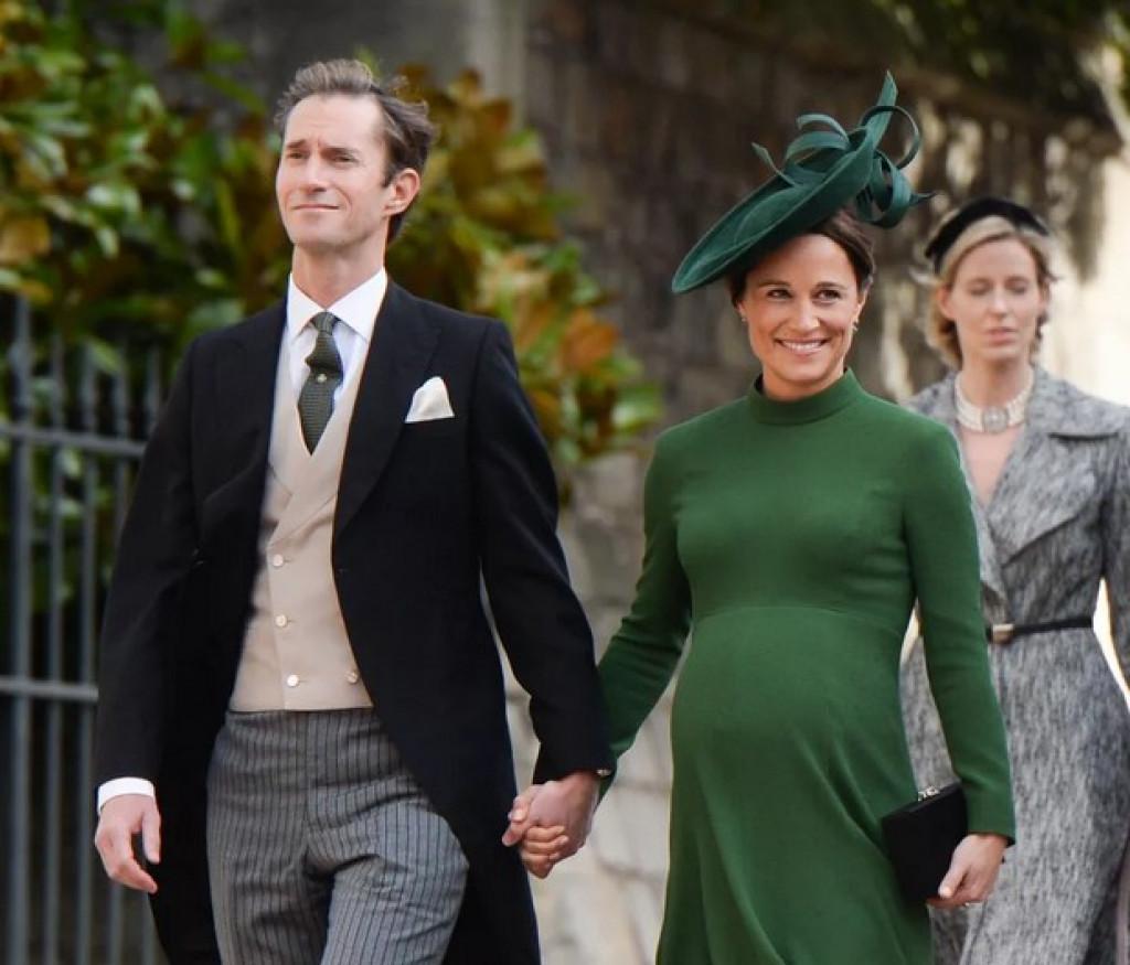 Pippa Middleton in James Matthews pričakujeta drugega otroka, ki se bo pridružil bratcu Arthurju.