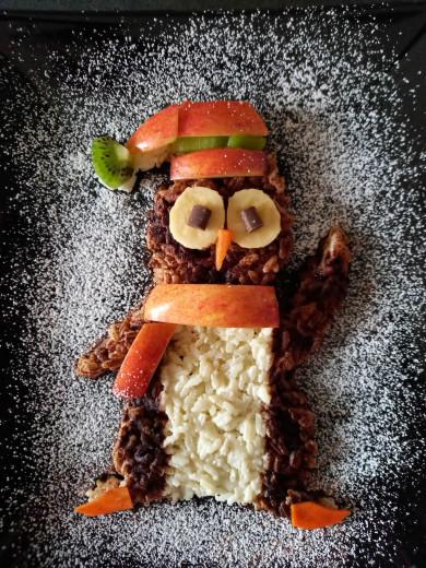 Iz testa lahko ustvarite mini smrečico (FOTO: Mamina pravljična kuhinja)