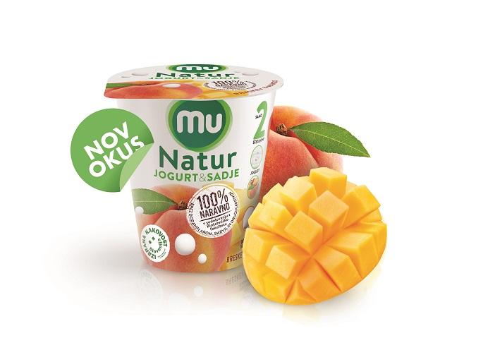 Mu Natur breskev/mango