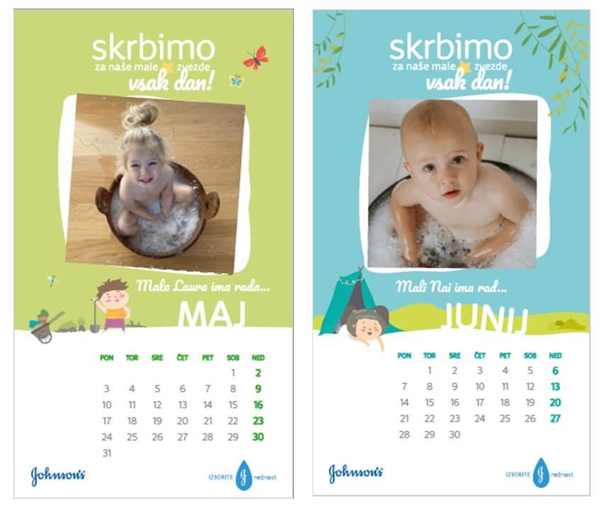 koledar za leto 2021