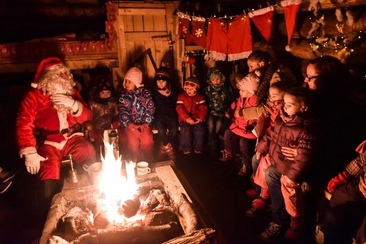 Božičkova dežela v Bohinju