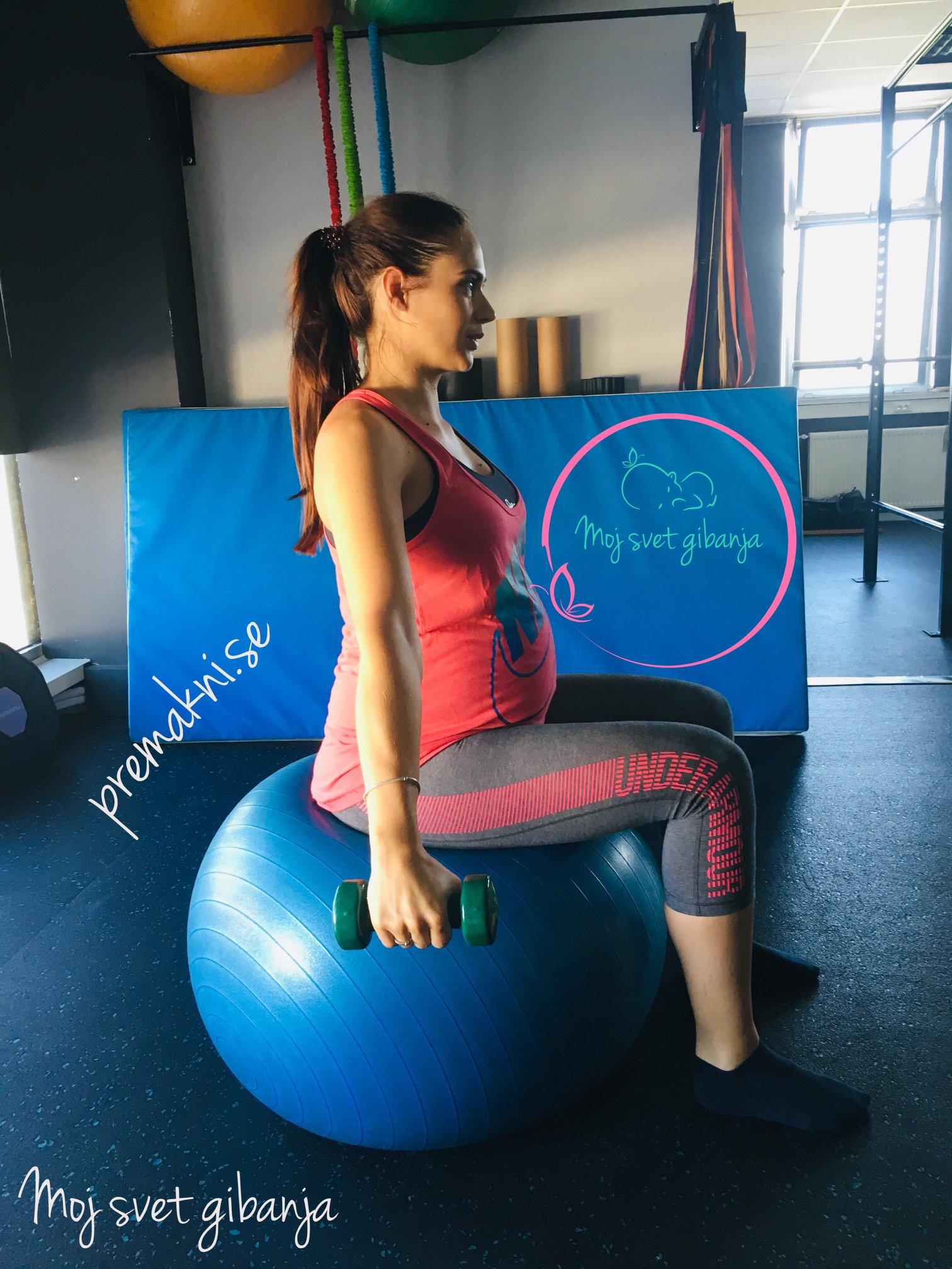 vadba v nosečnosti