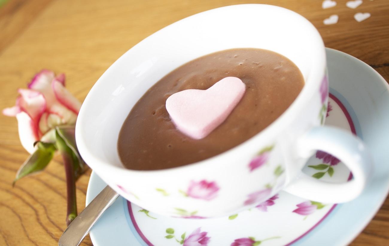 vroča čokolada, recept