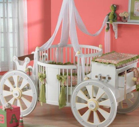 Unikatne posteljice za dojenčka