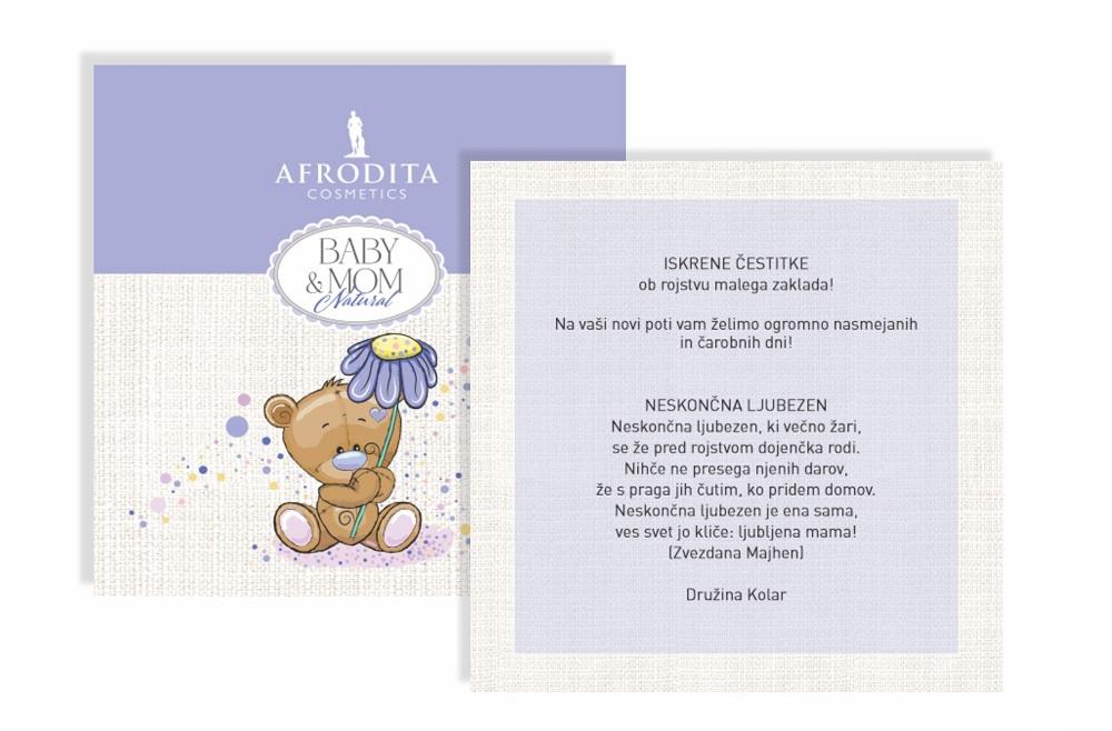 Personaliziran baby paket Baby & Mom Natural