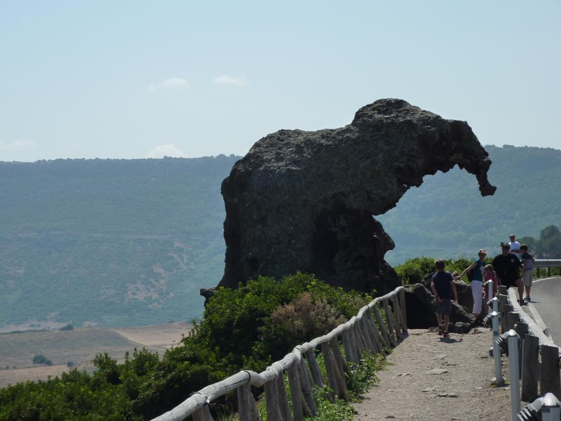 sardinija, slonova skala