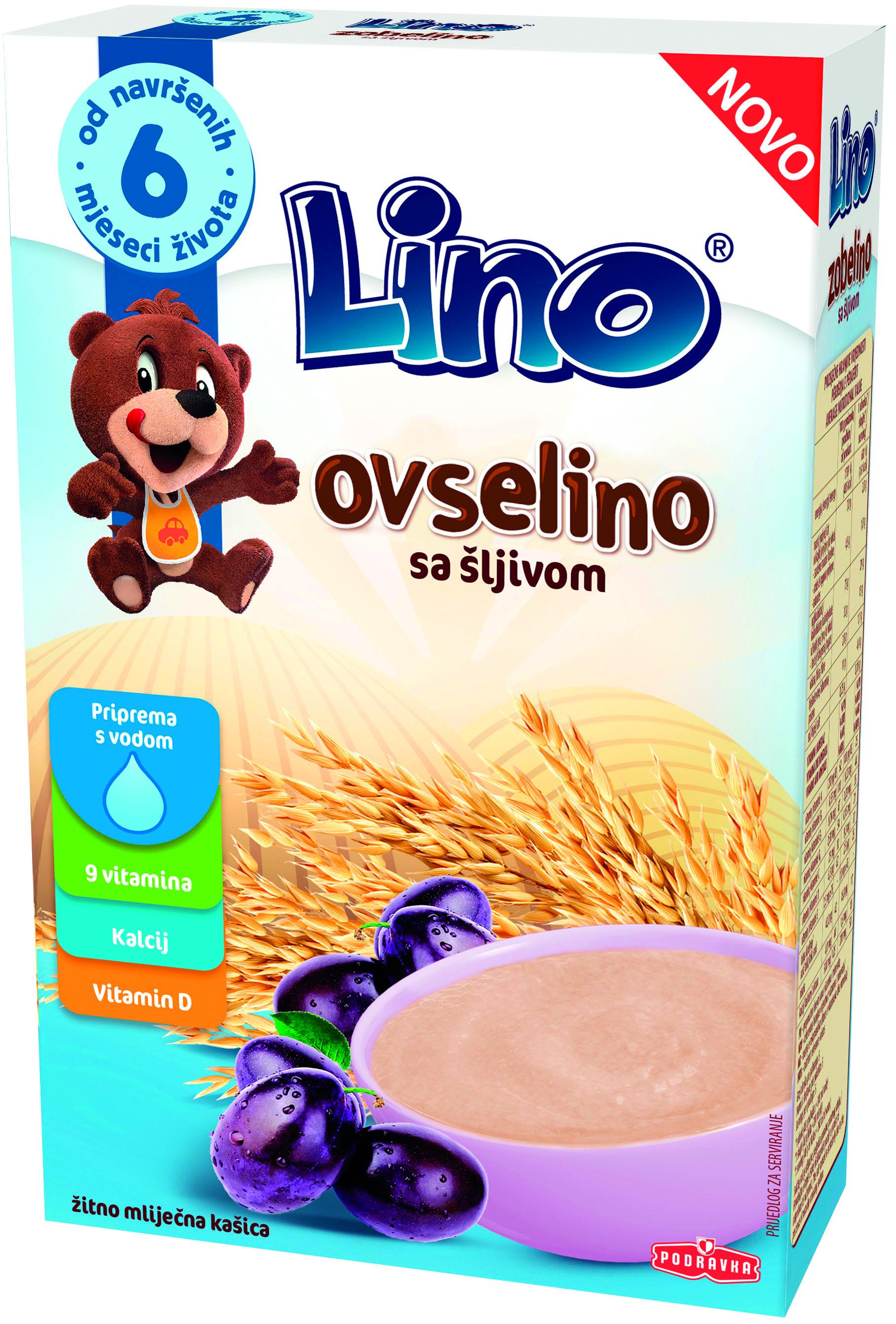 Lino Ovsena kaša s slivami
