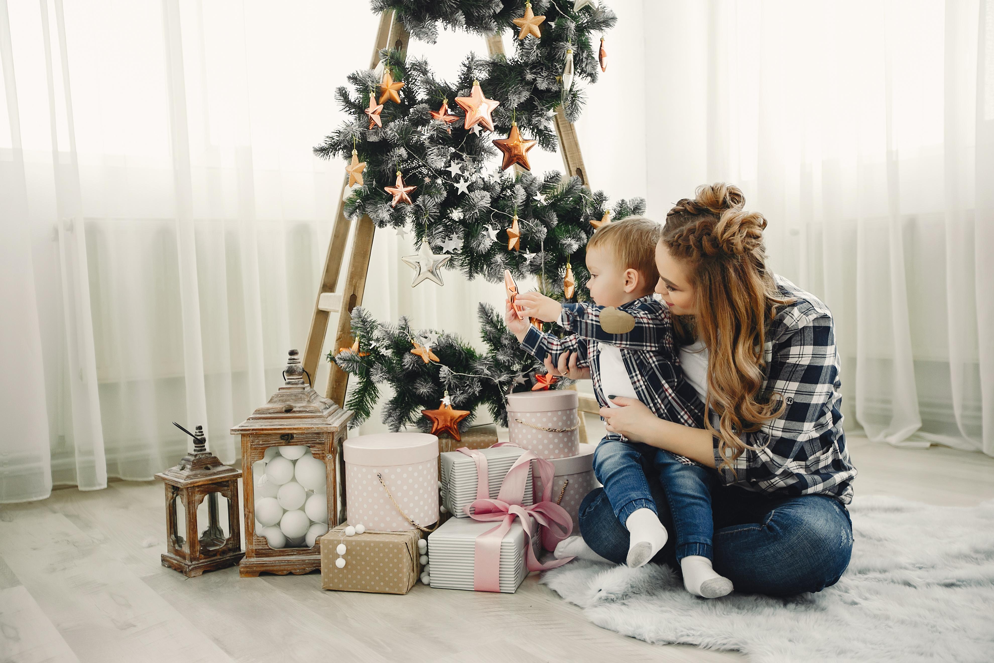 prazniki z malčkom