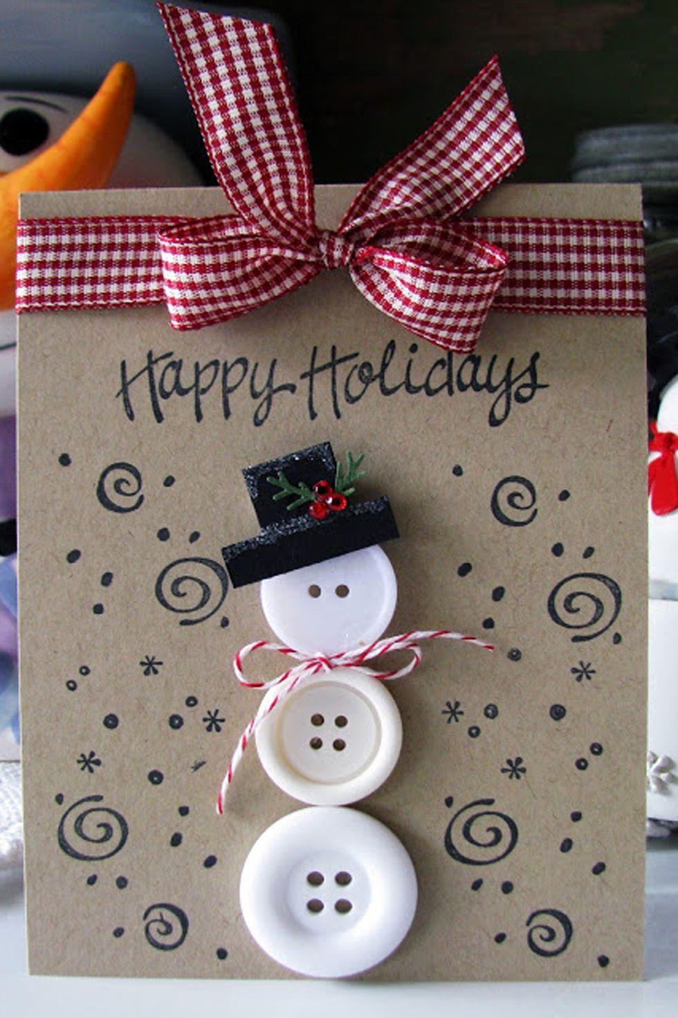 7 idej za izvirne božično-novoletne voščilnice