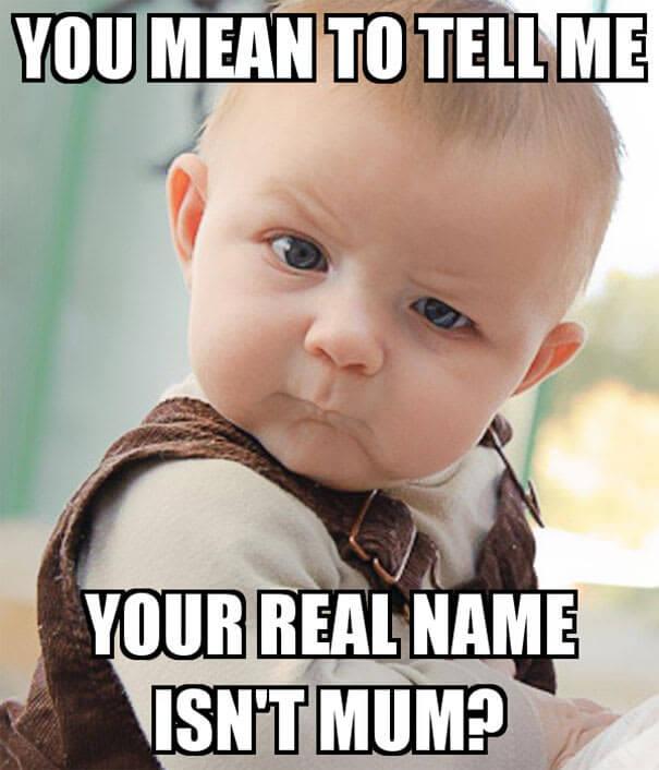 tvoje ime ni mama