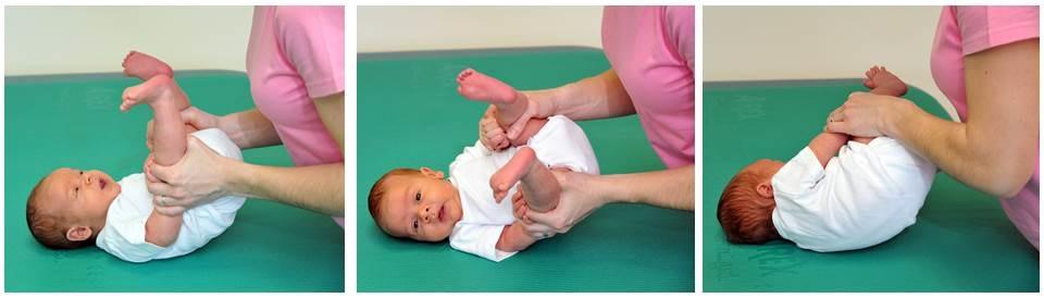 obračanje dojenčka