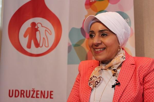 dr Suzan Halimeh - direktor Istraživačkog centra za koagulaciju